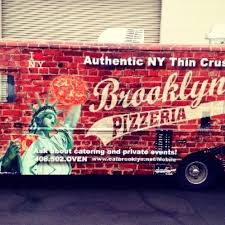 100 Brooklyn Food Trucks Pizzeria Mobile Truck San Jose Roaming