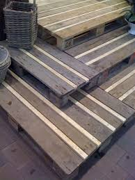 Diy Crafts Ideas Recycled Wooden Pallets Great Idea For Garden Decking Add The Strip Of Wood Be