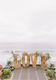 Love Beach Wedding Backdrop Decorations