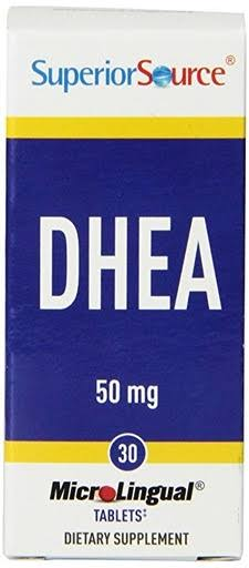 Superior Source DHEA Multivitamin - 50mg 30 Tablets