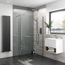 Zenolite Plus Ash Acrylic Shower Wall Panel 2440 X 1220 Regal