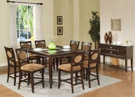 Bar Table Set 7 Piece Round Dining Set 9 Piece Counter Height Dining