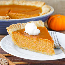 Pumpkin Pie With Molasses Brown Sugar by Pie Archives American Heritage Cooking
