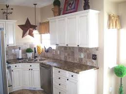 White Laminate Countertop Kitchen Cabinets With Countertops 1