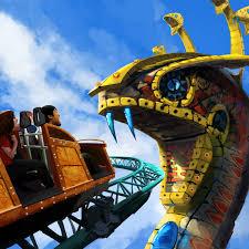 Spin coaster Cobra s Curse to open at Busch Gardens in 2016