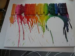 Melted Crayon Art Painting Wonderfully Made Pursuits
