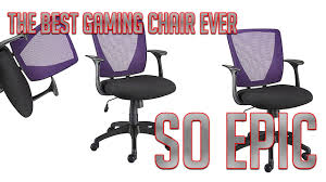 review of the staples vexa mesh back office chair youtube