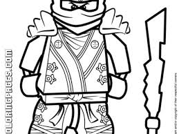 Cool Lego Ninjago Kai KX Coloring Page H M Pages