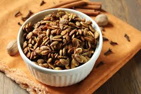 Dry Roasted Shelled Pumpkin Seeds by Delicious As It Looks Two Recipes For Roasted Pepitas Pumpkin Seeds