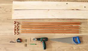 fabriquer un canapé en bois diy canapé fabriquez un meuble design et pratique pour l arrière