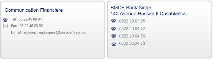 bmce casablanca siege contact bmce bank