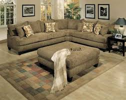 Chocolate Corduroy Sectional Sofa by Fancy Corduroy Sectional Sofa With Decorating Chocolate Tufted
