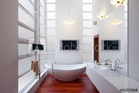 badezimmer luxury bathroom with spa buy this stock