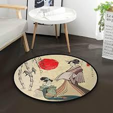 de mnsruu japanische geisha sun bambus teppich