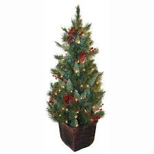 4 Ft Pre Lit Christmas Tree by Marvellous Design 4ft Pre Lit Christmas Tree Imposing Decoration 5