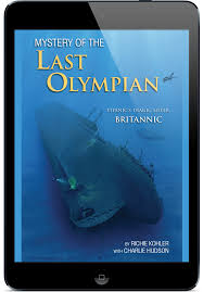 The Sinking Of The Britannic Old Version by Best Publishing Company Mystery Of The Last Olympian Titanic U0027s