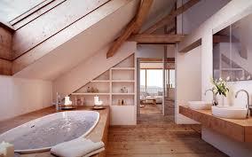 Interessane Gestaltung Eingelassene Badewanne Hölzerne Bretter Wohnideen Interior Design Einrichtungsideen Bilder