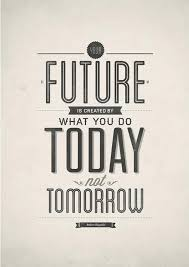 Beautiful Future Typography Design Poster Quote