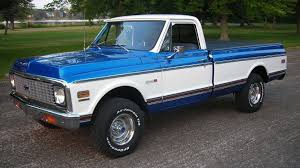 1972 Chevrolet K10 Pickup Presented As Lot F14 At Schaumburg, IL ... 1972 Chevrolet Chevy Cheyenne Truck Short Bed 385 Fast Burner 385hp Chev Rhd C10 Stepside Pickup Turbo Diesel Ck For Sale Near Hendersonville Tennessee Cadillac Michigan 49601 Mbp Motorcars Super 4x4 12 Ton Blazer Restore A Muscle Car Llc Need To Find One Of These In A Short Wide The Jester 400 10 Series Connors Motorcar Company