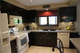 Dark Wood Cabinet Kitchens Colors White Appliances With Wood Cabinets Fabulous White Cabinets And
