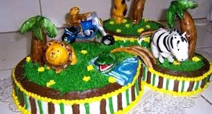 The King Of Jungle Baby Shower Cake Vtwctr