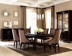 Stylish Elegant Dining Room Best Furniture Chair Design Luxury Set Curtain Idea Centerpiece Table Chandelier Lighting