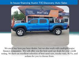100 Used Trucks Austin PPT In House Financing TX PowerPoint Presentation ID7881010