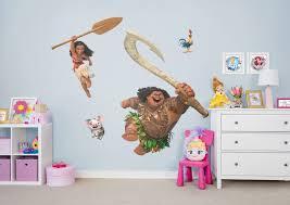 fathead baby wall decor moana collection wall decal shop fathead for moana decor
