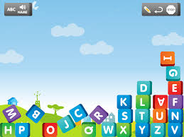 Baby Writing Abc Letters