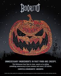 Chipotle Halloween Special 2012 by Awesome Chipotle Burrito Halloween Ideas Gamerunner Us