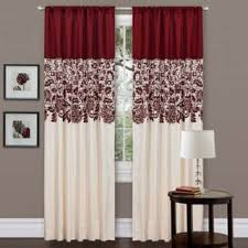 Absolute Zero Curtains Red by Lush Decor Curtains U0026 Drapes For Less Overstock Com