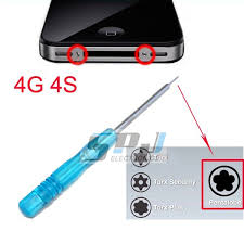 pentalobe Screwdriver for iphone 4 4g 4S open tools 5 Point Star