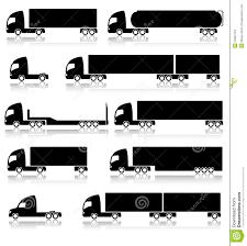 100 Icon Trucks Transportation S Stock Vector Illustration Of