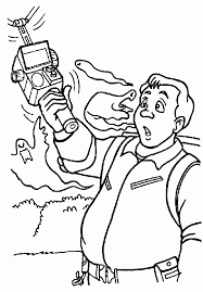 Real Ghostbusters Colouring Pages Page 3