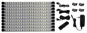 pro series 21 led deluxe kit cabinet lighting warm