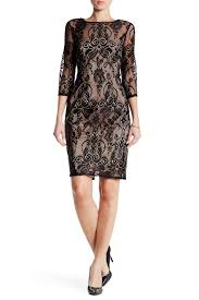 adrianna papell chantilly lace sheath dress missy u0026 petite