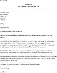 Cover Letter Examples for Pharmacy Technician Trainee Paulkmaloney