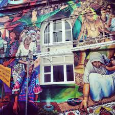 Famous American Mural Artists by Street Magic Balmy And Clarion Alleys Try This Road
