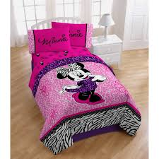 disney minnie mouse diva twin full bedding comforter pink
