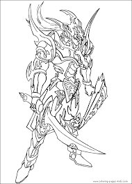 Yu Gi Oh Color Page Cartoon Characters Coloring Pages Plate More Free Printable