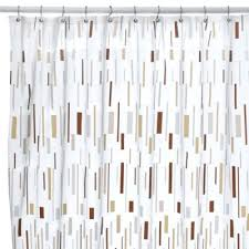 Bed Bath And Beyond Bathroom Curtain Rods by Buy Vinyl Shower Curtain From Bed Bath U0026 Beyond