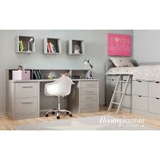 bureau chambre fille chambre enfant avec lit à tiroirs bureau et rangement asoral ma