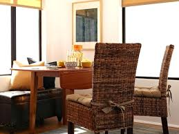 Dining Chair Cushions With Ties Room Seat Pads For Tie Back India