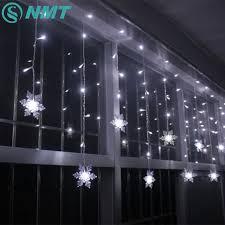 Holiday Lighting 3 5M 96 LED Snowflake Fairy Curtain LED String