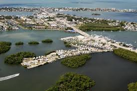 San Carlos RV Park Islands Aerial View Showing Our Campground And Fort Myers Beach