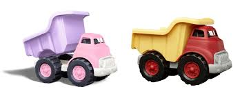Buy Green Toys Dump Truck, Pink & Dump Truck Vehicle, Red Playsets ...