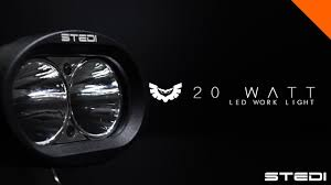 STEDI Twin Flood Or Spot LED Work Lights - YouTube Turbosii Pair 7 Inch Led Light Bar Off Road Driving Fog Lights Super 10w Roundsquare Spotflood Beam Led Work For Car Motorcycle Land Rover Defender Offroad Truck 4x4 27w Round Spot Lightfox 20 Inch 126w Cree 4wd Flood 4 54w Flood Dc 1030v 172056 Lamp 2 Cree For Dicn 1 5in 45w Floodlights 45w Working 1pcs 5inch 18w Pod 2pcs 27w Tractor Boat