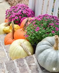 Sunnyside Pumpkin Patch by Fall Front Porch Inspiration And Some Bhg Stylemaker Snapshots