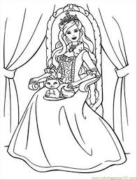 Online Princess Coloring Pages For Kids