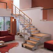 escalier un quart tournant jardin escaliers